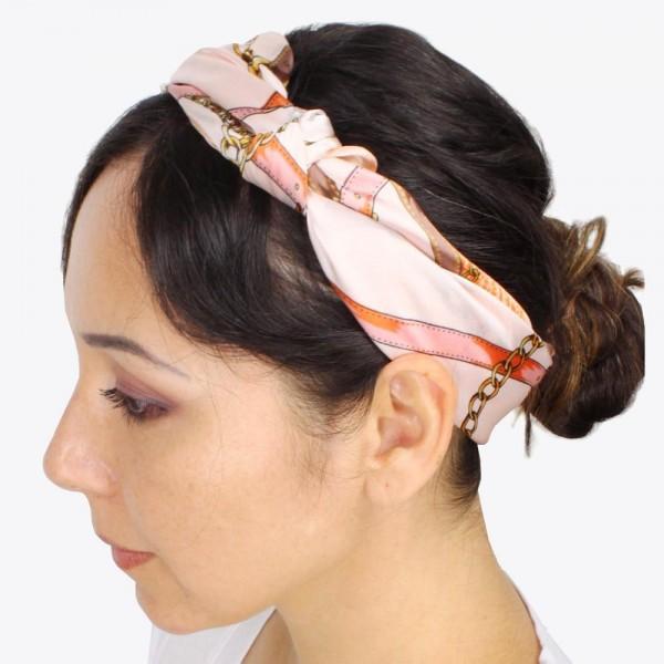 Designer Inspired Navy and orange SILK scarf  neckerchief BANDANNA