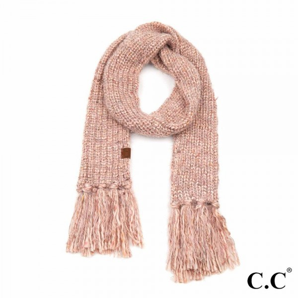 Wholesale c C SF Multicolor Feather Yarn Knit Scarf Fringe Tassels L W Fringe