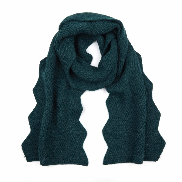 Wholesale c C SF Chevron Knit Pattern Scarf L W Acrylic Nylon Polyester