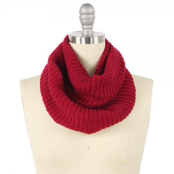 Wholesale cowl Neck Knit Infinity Scarf W L Acrylic