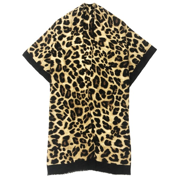 """Do everything in Love Brand Lightweight Leopard Print Kimono.  - One size fits most 0-14 - Approximately 37"""" L  - 100% Polyester"""