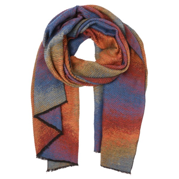 """Do everything in Love Brand Tie-Dye Ribbed Knit Scarf.  - Approximately 26"""" W x 72"""" L - 100% Polyester"""