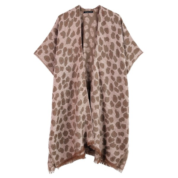 "Do everything in Love Brand Cozy Soft Leopard Print Kimono.  - One size fits most 0-14 - Approximately 36"" L - 90% Acrylic, 10% Polyester"