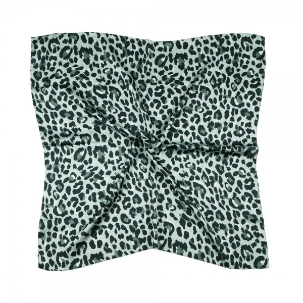 "Cheetah Print Bandana Scarf.   - Approximately 27"" x 27""  - 100% Polyester  - Versatile Styling"