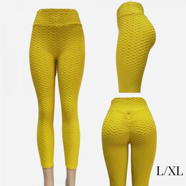 "Women's Brazilian Body Sculpting Full Length Leggings.  - Body Sculpting - Anti-Cellulite - Butt Lifting - Full Length - 3.5"" Elastic Waistband  - Size: L/XL - 92% Polyester / 8% Spandex"