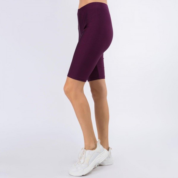 """Women's New Mix Brand Silky Nylon Spandex Biker Shorts. (6 pack)  - 1"""" Elastic Waistband - Silky, Smooth & Cool Feel Material - Inseam 9.5"""" Long  - 6 Pair Per Pack - Sizes: 3:S/M - 3:L/XL - 82% Nylon / 18% Spandex"""