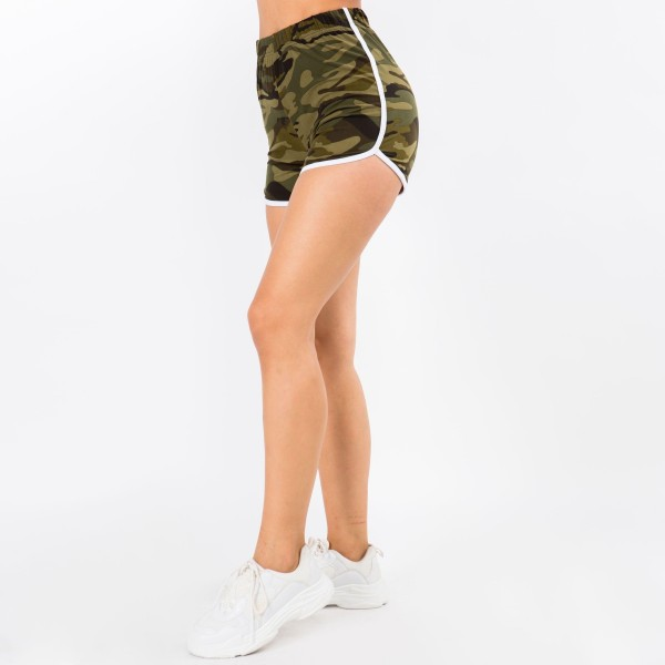 """Women's New Mix Brand Active Athletic Dolphin Shorts. (6 pack)  - 1"""" Elastic Waistband - Smooth, Cool Feel Material   - 6 Pair Per Pack - Sizes: 1:S 2:M 2:L 1:XL - Inseam 4"""" Long - 92% Polyester / 8% Spandex"""