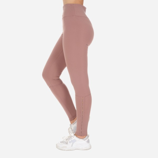 Solid Color Full-Length Leggings Featuring Clasp Closure Details Around Ankle. (6 Pack)  - High Waist - Made from soft 4-way moisture wicking polyester - High Quality Fabric - Squat Test Approved! - All-Purpose leggings are great for all exercises or everyday casual wear - Material: 88% Polyester, 12% Spandex - Sizes: 1-S, 2-M, 2-L, 1-XL
