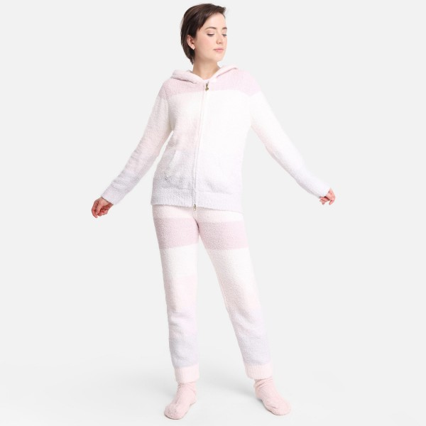 Comfy Luxe Ultra Plush Lounge Top  - Size L/XL: US Women's Size 10-14 - Relaxed Fit - 100% Polyester Microfiber