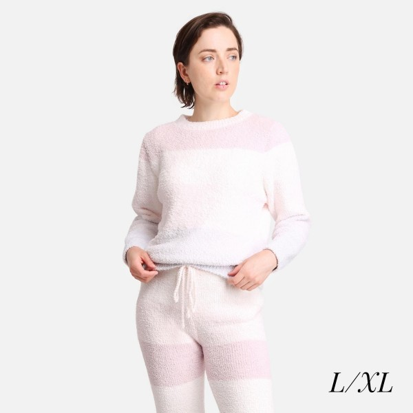 Comfy Luxe Ultra Plush Lounge Top  - Longsleeve - Extra soft