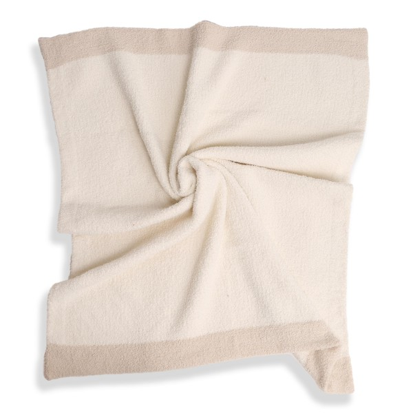"""Super Soft Comfy Luxe Knit Baby Blanket. The Softest Throw Blanket Made of the Highest Quality Material. So Soft You Have to Feel Them for Yourself. This Luxurious Throw is a Guaranteed Best Seller this Season!  - Approximately 29"""" W x 35"""" L - 100% Polyester - Extra Plush and Cozy"""