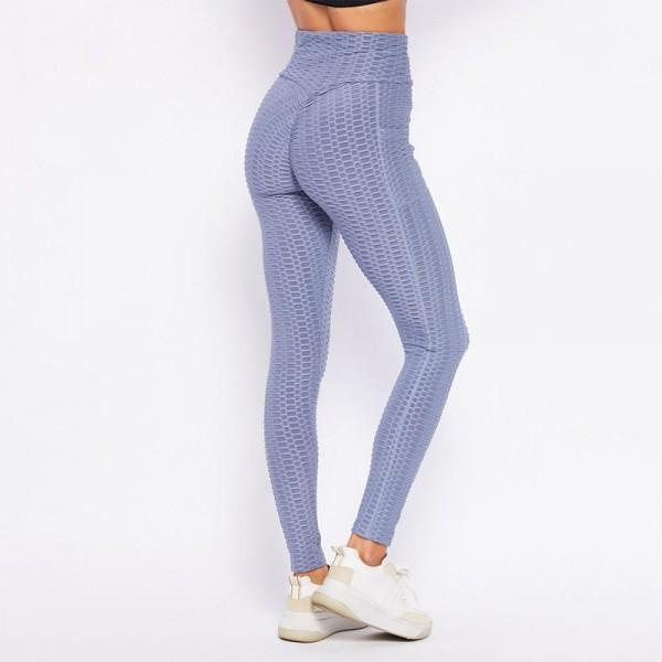 "Honey-Comb ""TikTok"" Brazilian Butt Lifting Full-Length Leggings Featuring 2 Side Pockets. (6 Pack)  - 92%Polyester, 8%Spandex - 6 Sets Per Pack - Full Length Leggings Featuring Elastic Waistband and 2 Side Pockets - Sizes: 3-S/M, 3-L/XL"