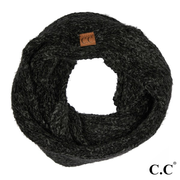 C.C INF-1925 Chenille infinity scarf  - 70% Polyester, 30% Nylon - One size fits most
