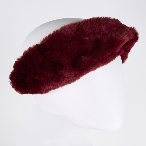 Do everything in Love brand faux fur headwrap.   - One size fits most  - 100% Acrylic