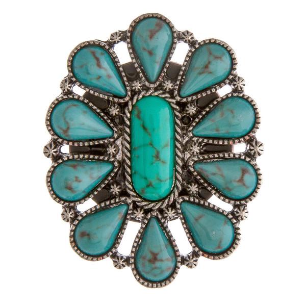 Wholesale accessorize phone grip metal decorative peel stick charm natural stone