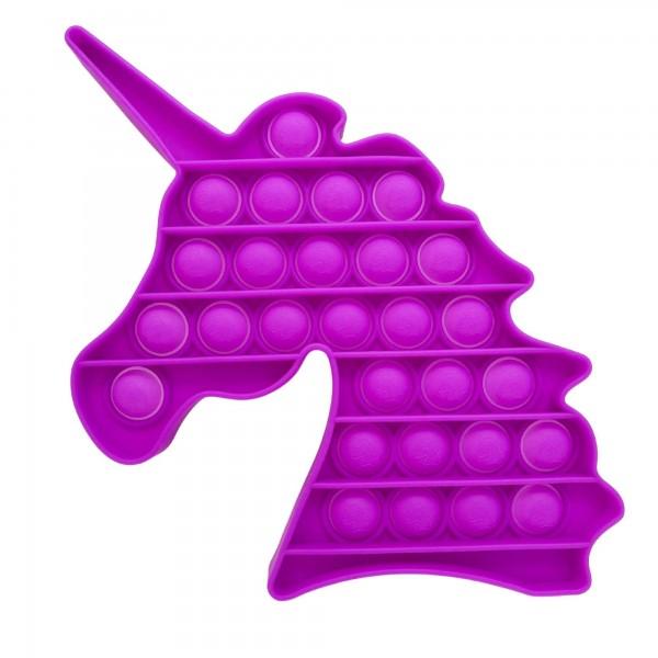 "Unicorn Shaped Push Pop Fidget Toy.  - Ages 3+ - As Seen On TikTok - ""It's Like Bubble Wrap That Never Ends!"""