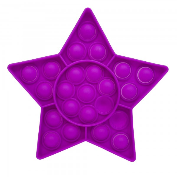 "Star Push Pop Fidget Toy.  - Ages 3+ - As Seen On TikTok - ""It's Like Bubble Wrap That Never Ends!"""