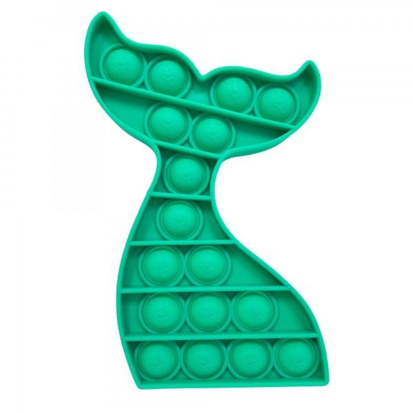 "Mermaid Tail Push Pop Fidget Toy.  - Ages 3+ - As Seen On TikTok - ""It's Like Bubble Wrap That Never Ends!"""