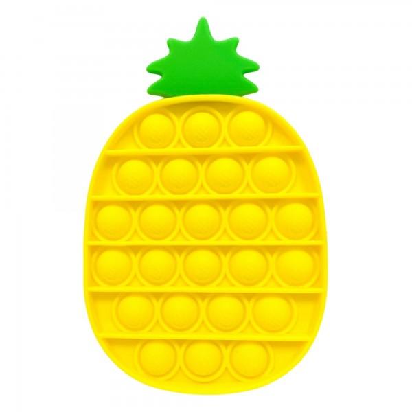"Pineapple Shaped Push Pop Fidget Toy.  - Ages 3+ - As Seen On TikTok - ""It's Like Bubble Wrap That Never Ends!"""