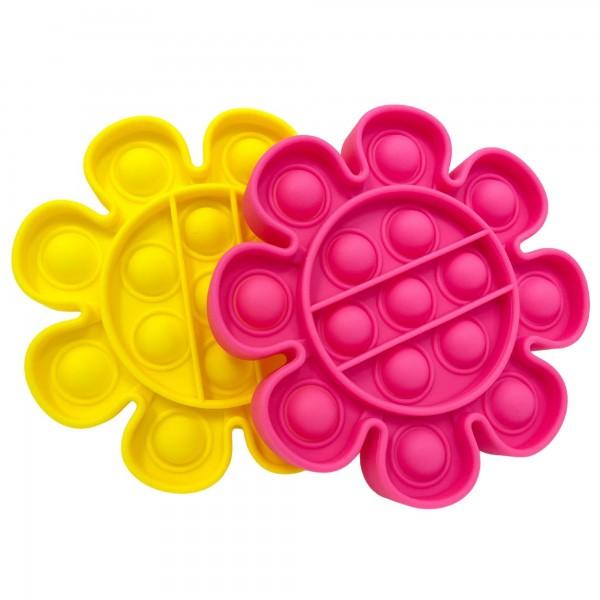 "Flower Shaped Push Pop Fidget Toy.  - Ages 3+ - As Seen On TikTok - ""It's Like Bubble Wrap That Never Ends!"""