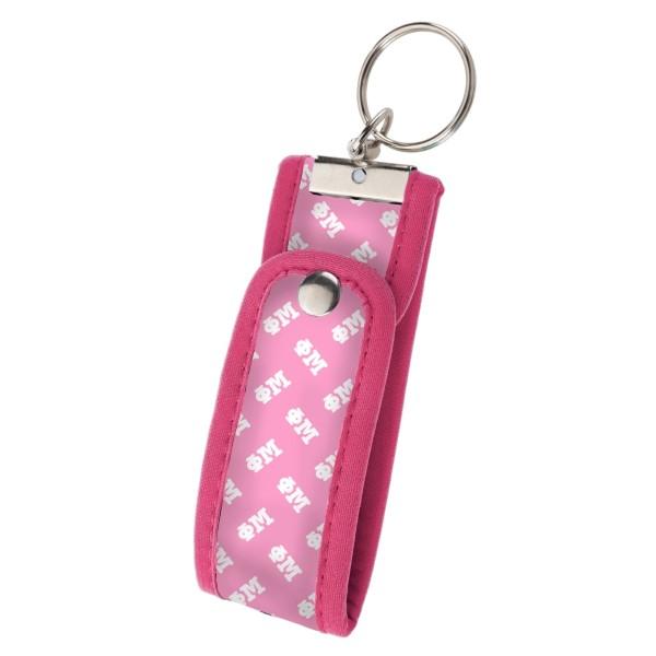 Wholesale neoprene Wristlet Key Fob Phi Mu Keep keys handy hands free popular Wr