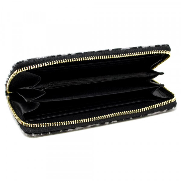 """Cheetah Print Wallet Clutch.  - Zip Around Closure - Holds Coins, Bills and Credit Cards - Approximately 7.5"""" W x 4.5"""" T"""