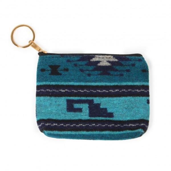 "Key ring coin purse  -100% Polyester -Zipper closure -5.5""W x 4""H"