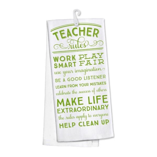 Wholesale teacher Rules kitchen dish towel made cotton s super absorbent machin