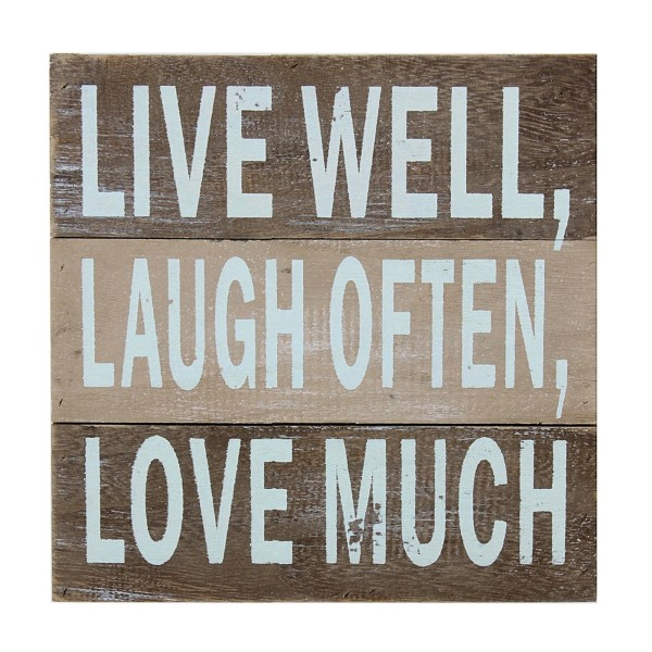 Wholesale distressed wooden reads Live Laugh Often Love More