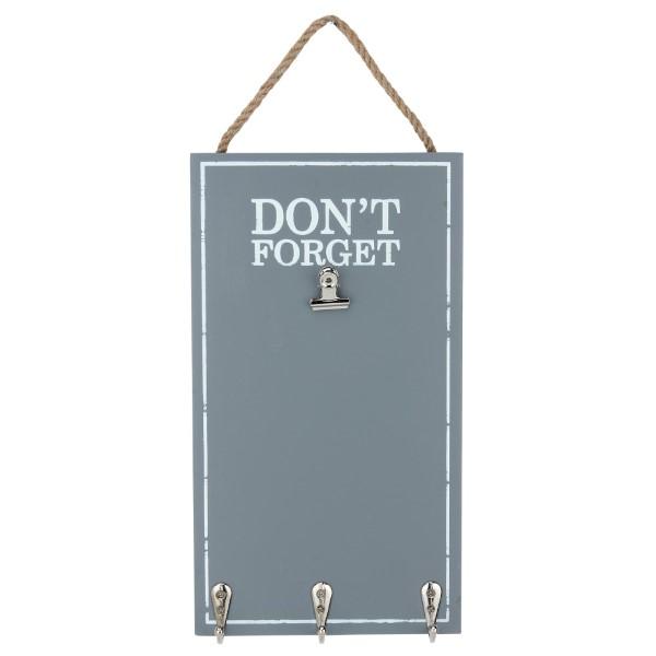 Wholesale wooden hanging memo board nonslip spring clip metal hooks