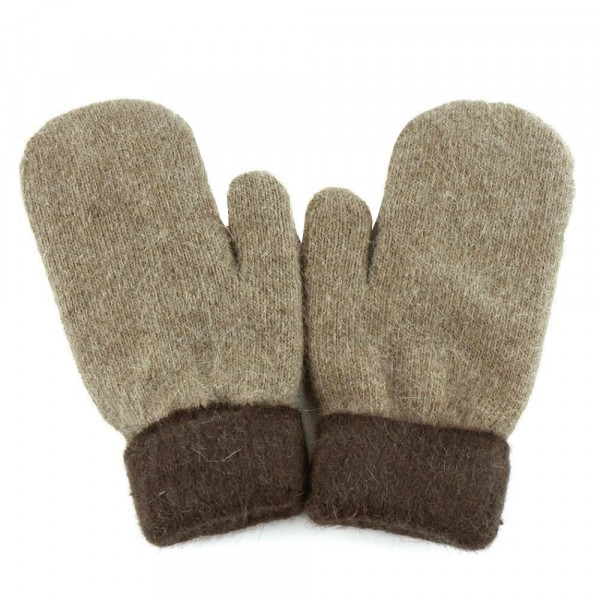 Soft Touch Knit Mittens.  - One size fits most - 100% Polyester