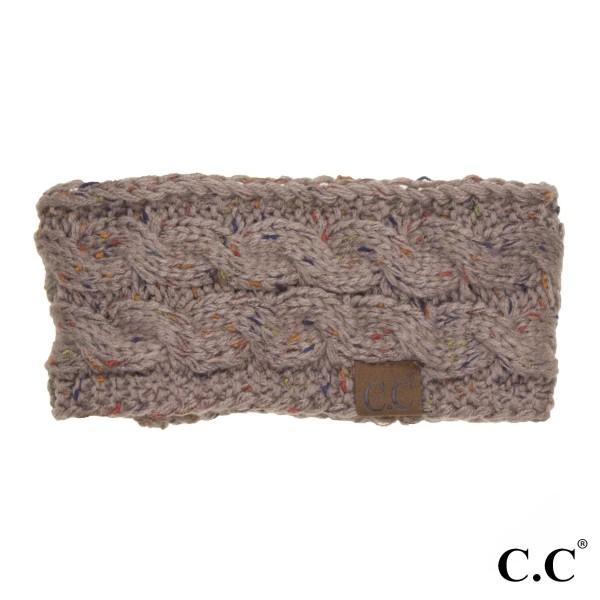 Wholesale c C HW Confetti knit headwrap Acrylic One fits most