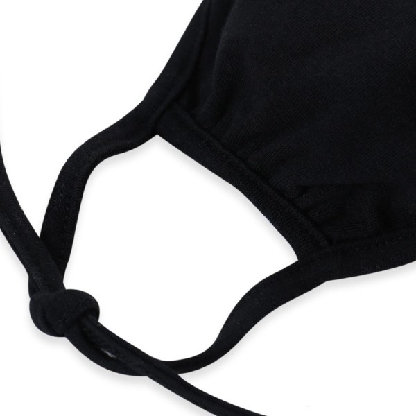Adjustable Reusable Solid Color Cloth Face Mask that Ties.  - Machine Wash in Cold  - Mild Detergent  - Lay Flat to Dry - Do Not Bleach - Adjustable Reusable Face Mask - These Mask Have NO Filter - One Size Fits Most Adults - Exterior Material: 95% Polyester / 5% Spandex - Interior Material: Cotton Blend in Ivory or White  These Masks Are Not For Professional Use and Not Medically Rated. These Masks Have No Proven Effectiveness Against Any Viruses.