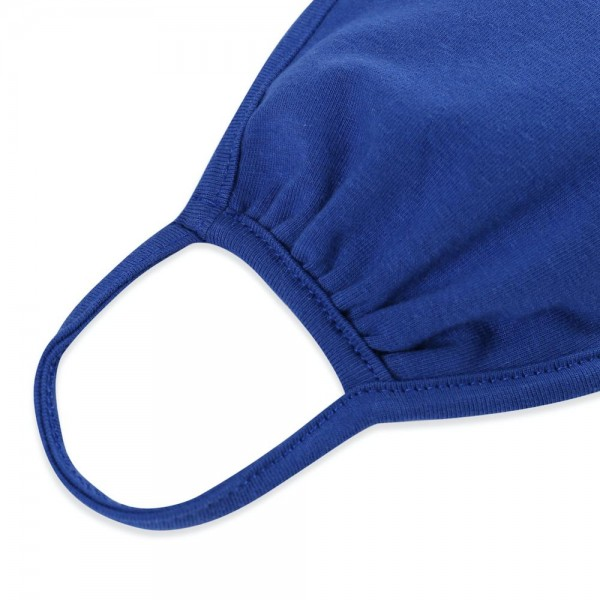 ADULTS Reusable Solid Color T-Shirt Cloth Face Mask.  - Machine Wash in Cold - Mild Detergent - Lay Flat to Dry - Do Not Bleach - Reusable Face Mask - These Mask Have NO Filter - One Size Fits Most Adults - Exterior Material: 95% Polyester / 5% Spandex - Interior Material: Cotton Blend in Ivory or White  These Masks Are Not For Professional Use and Not Medically Rated. These Masks Have No Proven Effectiveness Against Any Viruses.
