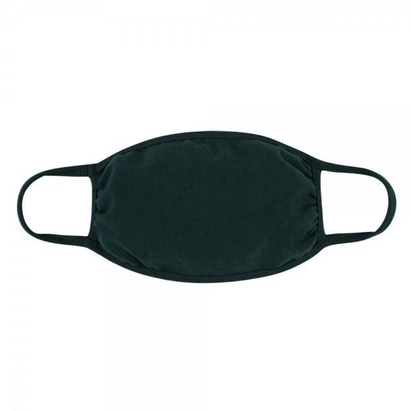 Wholesale aDULTS Reusable Solid Color T Shirt Cloth Mask Machine Wash Cold Mild