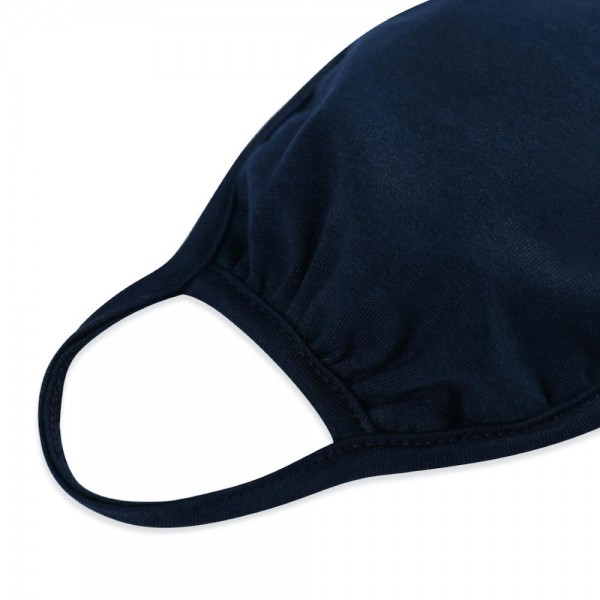 Reusable Solid Color T-Shirt Cloth Face Mask.  - Machine Wash in Cold - Mild Detergent - Lay Flat to Dry - Do Not Bleach - Reusable Face Mask - These Mask Have NO Filter - One Size Fits Most Adults - Exterior Material: 95% Polyester / 5% Spandex - Interior Material: Cotton Blend in Ivory or White  These Masks Are Not For Professional Use and Not Medically Rated. These Masks Have No Proven Effectiveness Against Any Viruses.