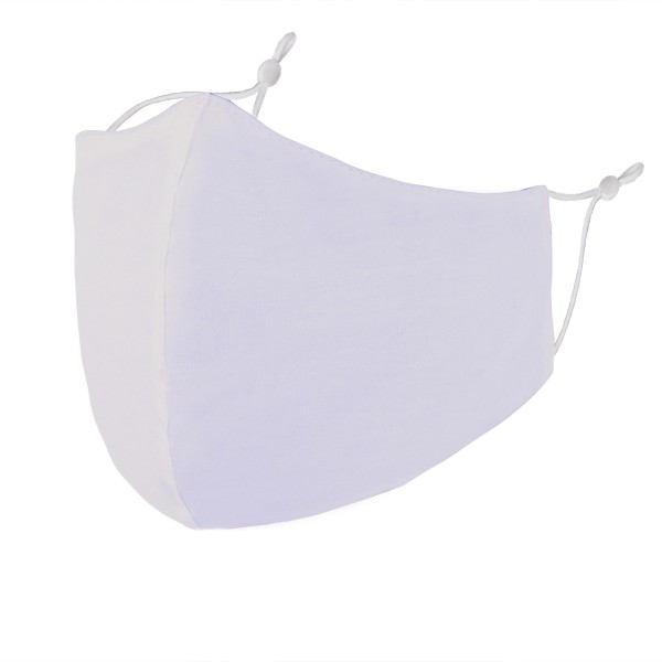 Wholesale non Medical Solid Washable Reusable Fashion Mask Seam Adjustable Ear L