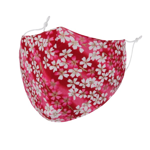 Non-Medical Cherry Blossom Washable & Reusable Fashion Face Mask with Adjustable Ear Loop.  - Wash Before Use - Reusable / Washable / Latex Free - Eco-Friendly - Protects from Dust / Fog / Spray / Pollen - One size fits most Adults - Cotton & Elastic  *** ALL Sales Final Due to CDC Recommendations