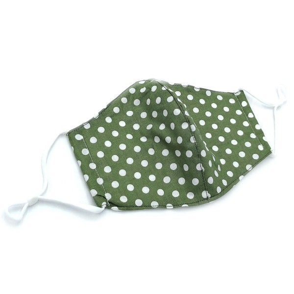 Do everything in Love Brand Adjustable Polka Dot Fashion Mask with Filter Insert.  - Adjustable Ear Loops - Washable & Reusable  - Non-Medical - Filter Insert - Filter Sold Separately*** - Blocks against Sunlight / Dust / Etc - Wash After Each Use  - One size fits most Adults   *** ALL Sales Final Due to CDC Recommendations