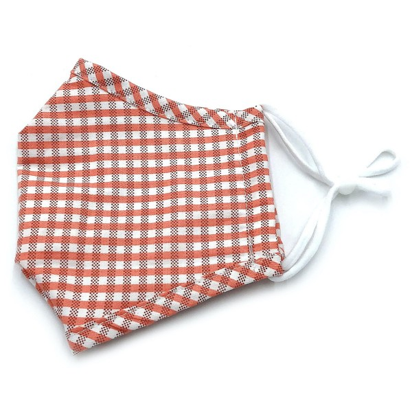 Wholesale do everything Love Brand Adjustable Checkered Print Fashion Mask Filte