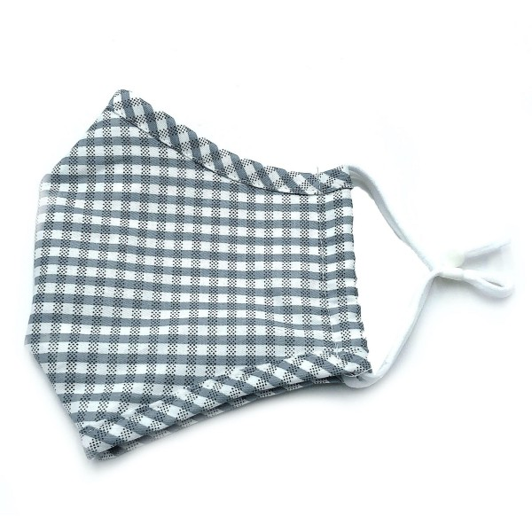Do everything in Love Brand Adjustable Checkered Print Fashion Mask with Filter Insert.  - Adjustable Ear Loops - Washable & Reusable  - Non-Medical - Filter Insert - Filter Sold Separately*** - Blocks against Sunlight / Dust / Etc - Wash After Each Use  - One size fits most Adults