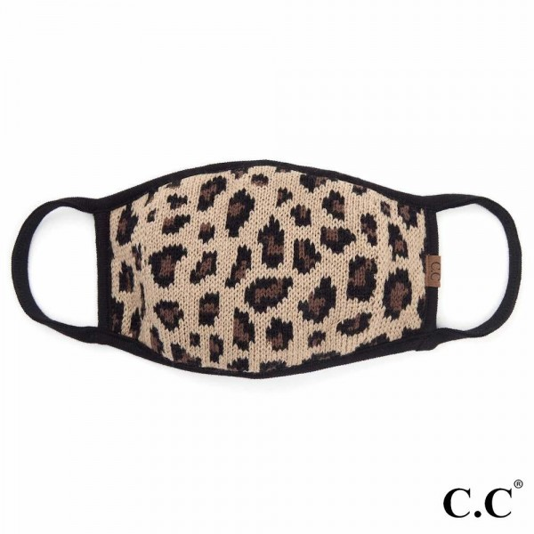 C.C MASK-20 Ribbed Knit Fall Winter Face Mask with Filter Insert.  - Non-Medical - Washable & Reusable - Wash After Each Use - Double Layer Fabric - Features Filter Insert, Filter Not Included - Made of 50% Cotton & 50% Acrylic  - Machine Wash Cold & Lay Flat to Dry  *** ALL Sales Final Due to CDC Recommendations