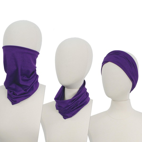 Solid Heather Seamless Tubular Bandana Face Mask. (Pack of 12)  - Seamless - Tubular Style - Easy Pull Up & Down - Washable & Reusable  - Lightweight & Breathable - Helps Protect agains Dust, Wind, Sunlight Etc. - Covers Neck  - Multifunctional Wear - These Mask Are Non-Medical - No Filter  - Pack Breakdown: 12 Mask Per Pack  - Each Mask Are Individually Wrapped - One size fits most - 100% Polyester Microfibre