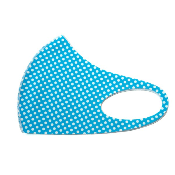Non-Medical Polka Dot Stretchable Fashion Design Face Mask. (Pack of 12)  - Non-Medical Fashion Face Mask - These Mask Have No Filter - Blocks Sunlight, Dust Particles, and/or Wind - Washable and Reusable - Wash After Each Use - Does Not Protect Against Toxic Gases  - Pack Breakdown: 12 Mask Per Pack - Each Mask Are Individually Wrapped - One size fits most Adults - 100% Polyester  *** ALL Sales Final Due to CDC Recommendations