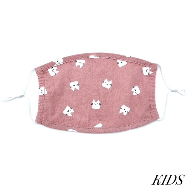 Do everything in Love Brand KIDS Adjustable Bunny Rabbit Print Fashion Face Mask.  - Non-Medical - Adjustable Ear Loops - Washable & Reusable - Wash After Each Use - Double Layer Fabric - NO Filter  - Blocks against Sunlight / Dust / Etc - One size fits most Kids (5-11)