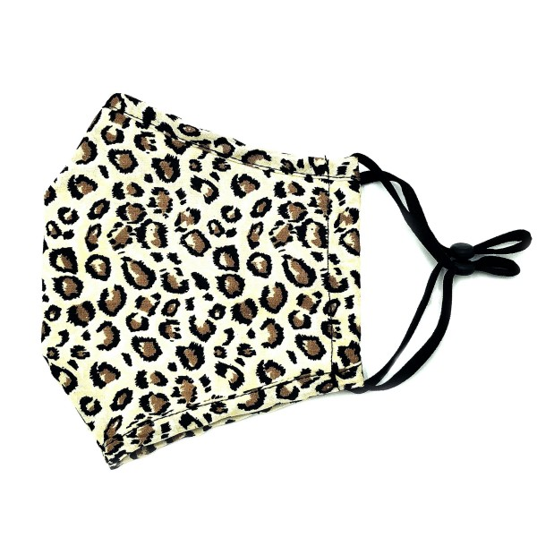 Do everything in Love Brand Adjustable Leopard Print Fashion Mask with Filter Insert.  - Adjustable Ear Loops - Washable & Reusable - Non-Medical - Filter Insert - Filter Sold Separately*** - Blocks against Sunlight / Dust / Etc - Wash After Each Use - One size fits most Adults  *** ALL Sales Final Due to CDC Recommendations