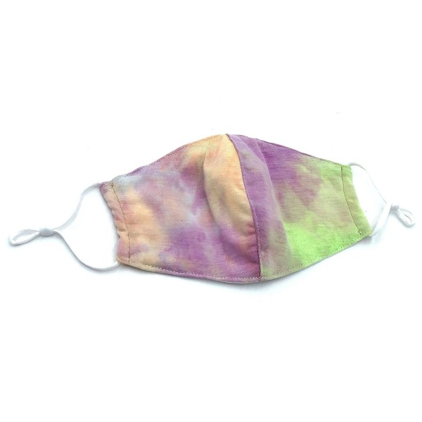 Do everything in Love Brand Adjustable Tie-Dye Face Mask.  - Non-Medical - Adjustable Ear Loops - Washable & Reusable - Wash After Each Use - Double Layer Fabric - Filter Insert (Filter Not Included)** - Blocks against Sunlight / Dust / Etc - One size fits most Adults  *** ALL Sales Final Due to CDC Recommendations *** Tie-Dye Color May Vary
