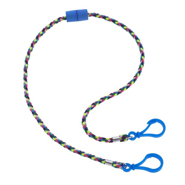 """Kids Break-A-Way Cord Mask Lanyard.  - Break-A-Way Safety Clasp - Large clasps at both ends that easily attach to any mask - Approximately 20"""" in Length"""