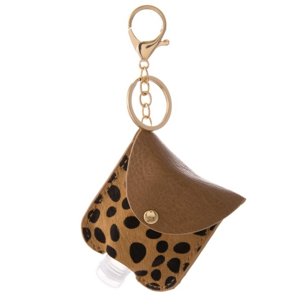 Wholesale keep Self Protected re Out About Genuine Leather Cow Print Hand Saniti