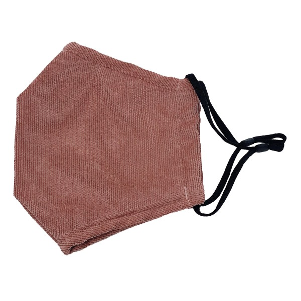 Do everything in Love Brand Adjustable Corduroy Fashion Face Mask with Filter Pocket.   - Adjustable Ear Loops - Washable & Reusable - Non-Medical - Filter Insert - Filter Sold Separately*** - Blocks against Sunlight / Dust / Etc - Wash After Each Use - One size fits most Adults  *** ALL Sales Final Due to CDC Recommendations